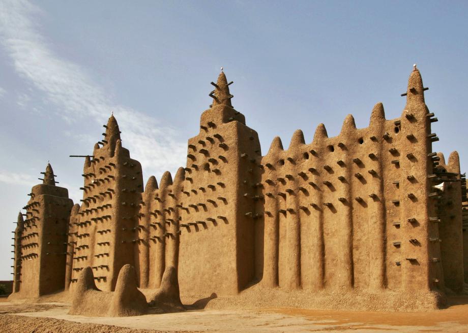 mosques taraweeh djenne