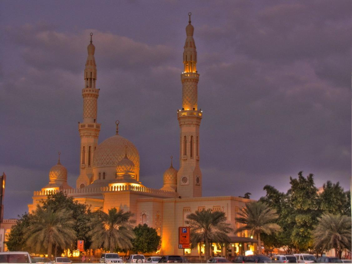 mosques taraweeh jumeirah