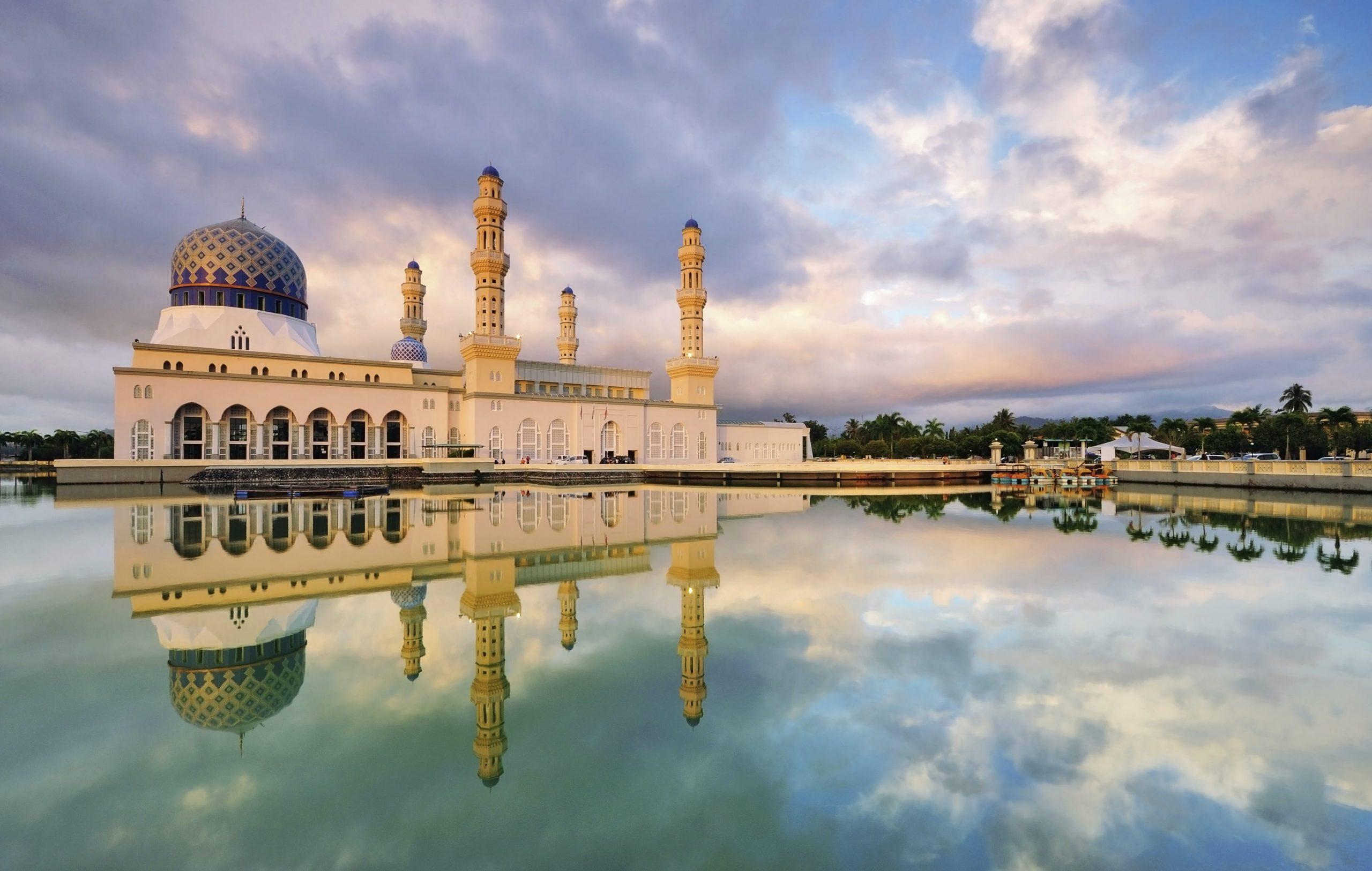 mosques taraweeh kota kinabalu