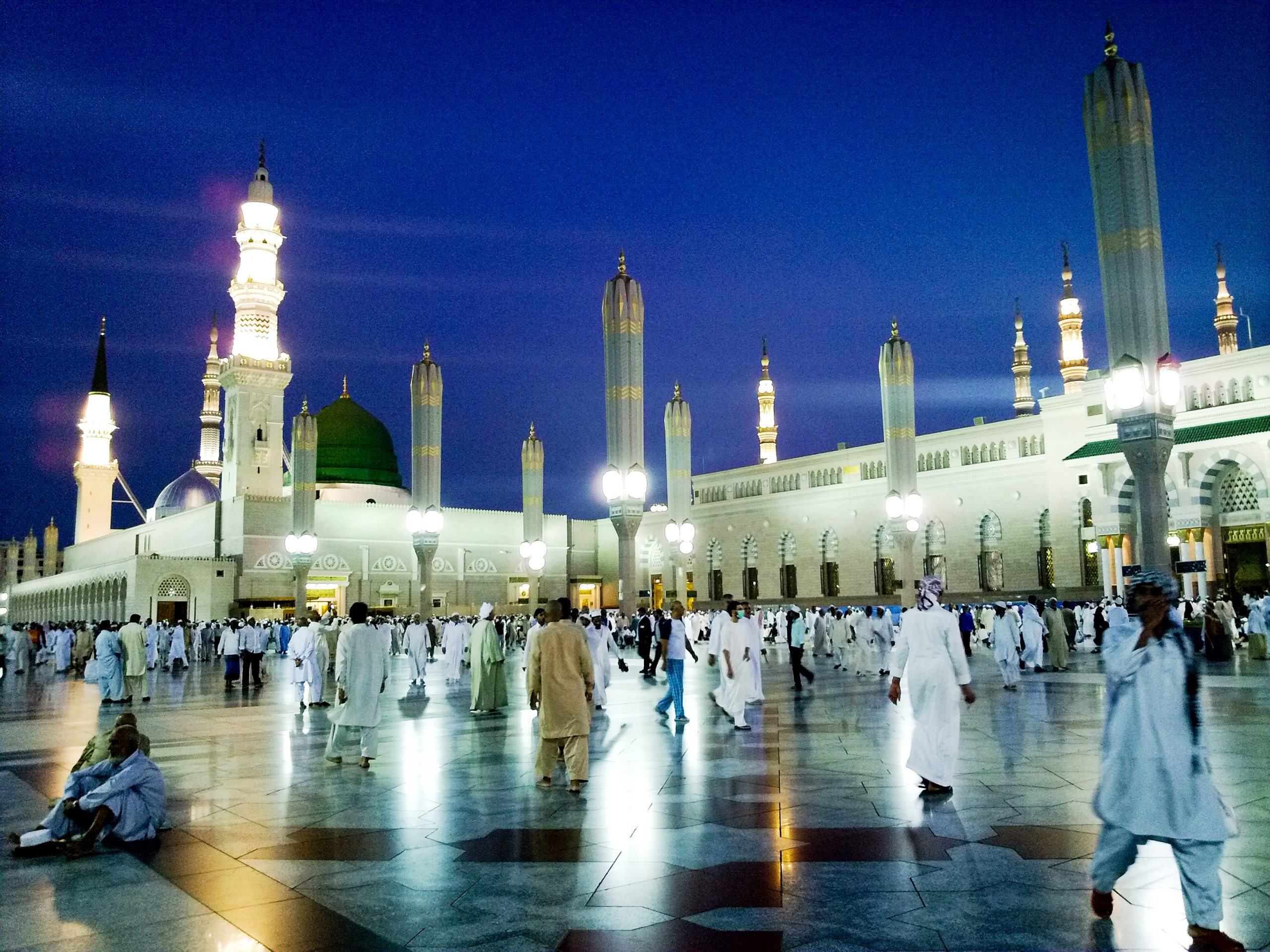 mosques taraweeh nabvi
