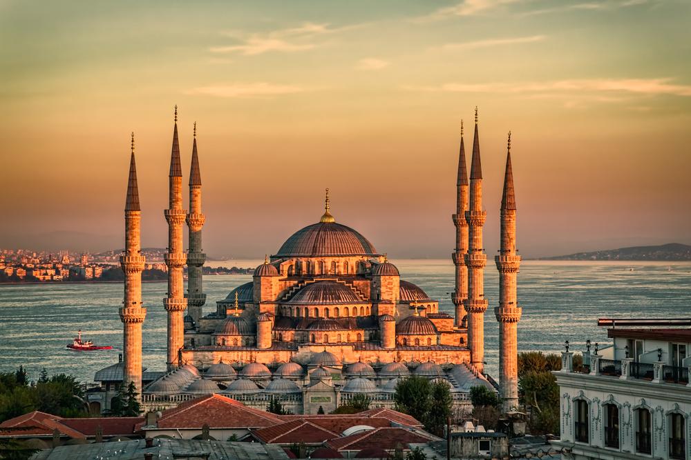 mosques taraweeh blue istanbul