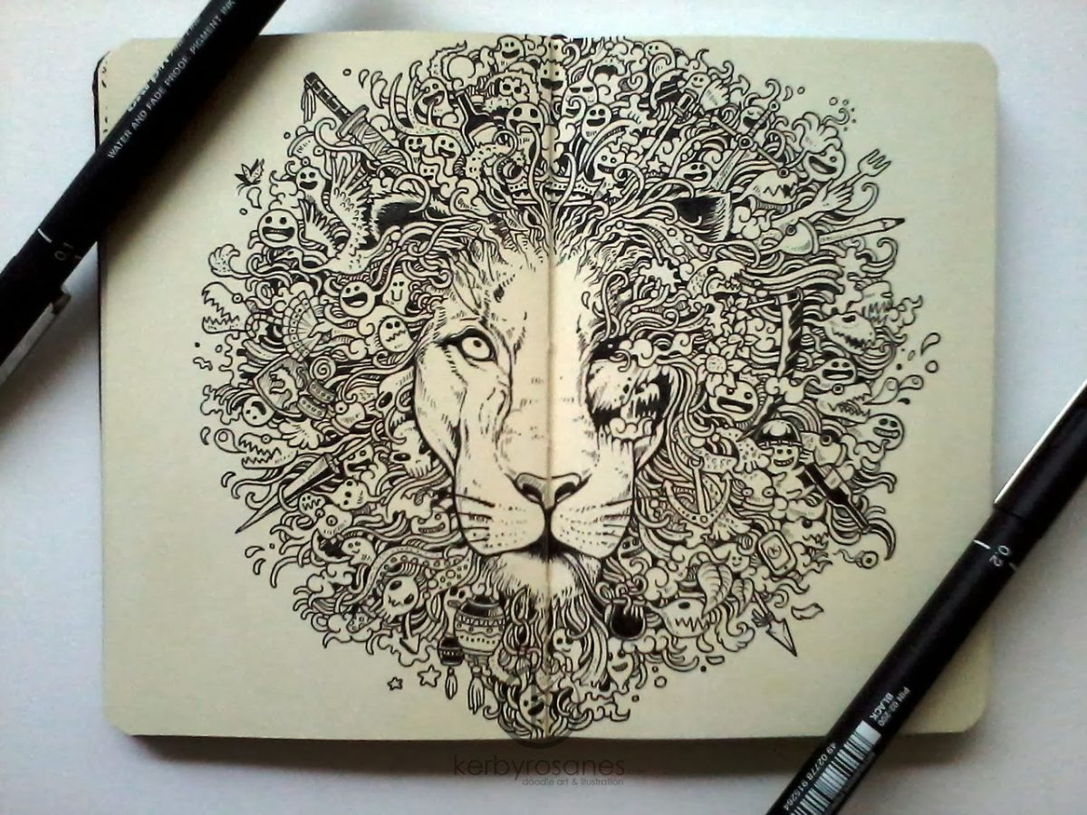 "This Mind-Blowing Doodle Art Will Make You Go, ""Kaash Mujhe Pencil Pakarna Aati"""