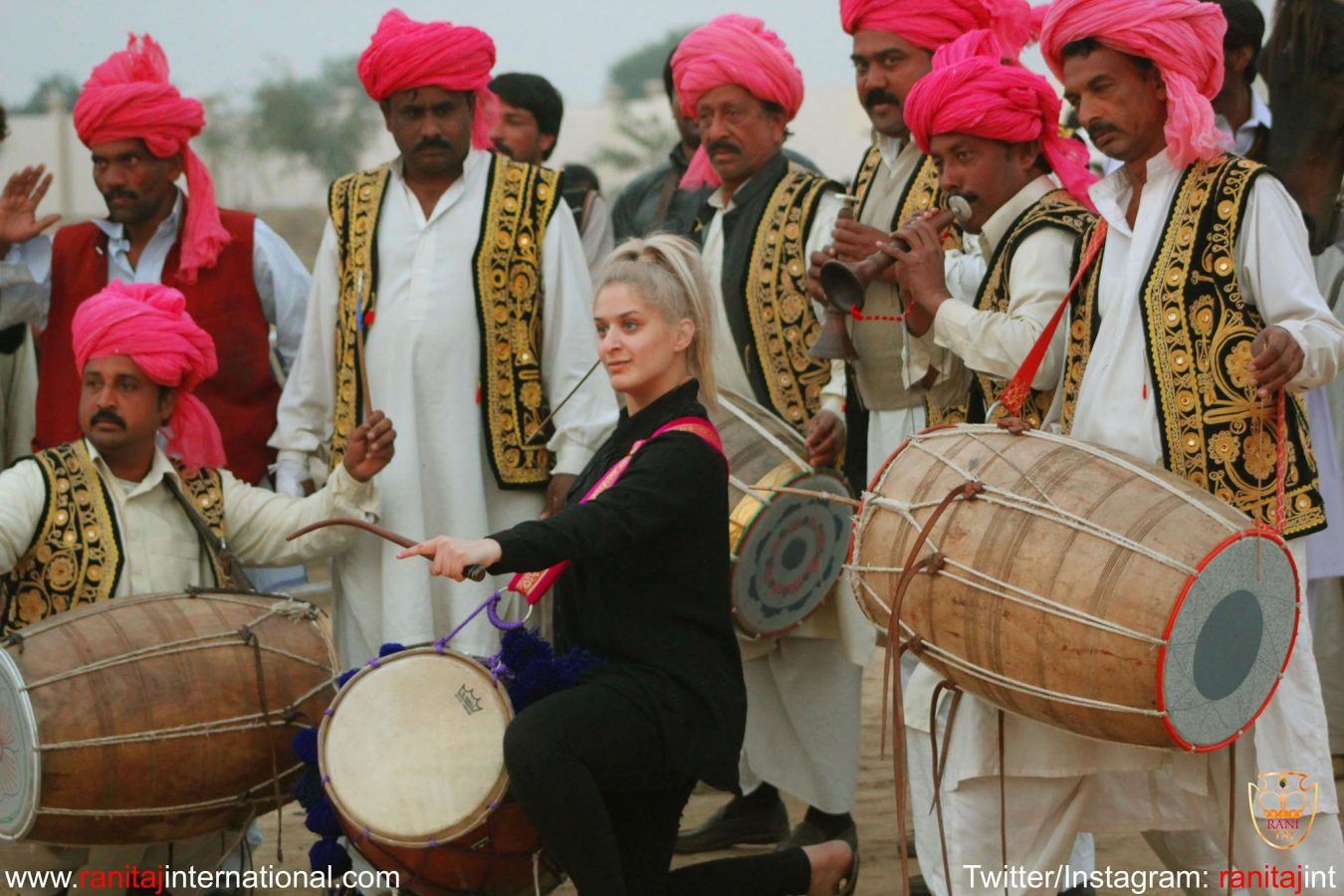 This Cool AF Stunt Involves A Dhol And It's Kinda, Sorta Trippy
