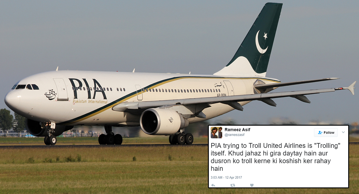 These Innocent Pakistanis Fell For That Totally Fake PIA Ad Trolling United Airlines