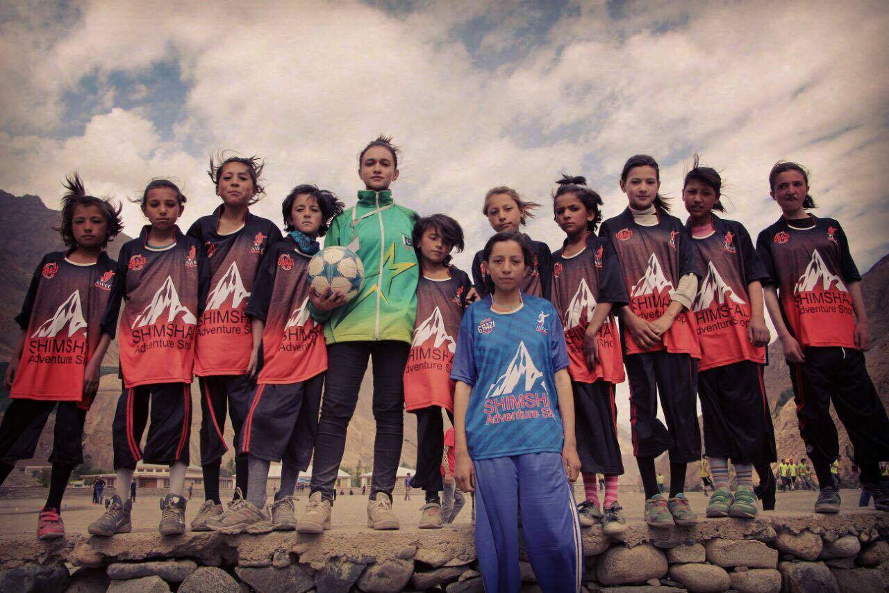This Women's Football Club In A Village In Hunza Is Allowing Girls To Step Out And Have Fun