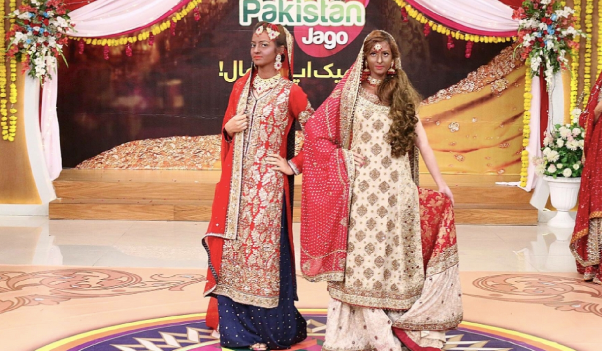 This Pakistani Morning Show's Racist Makeup Looks Are Absolutely Ridiculous And People Are Enraged