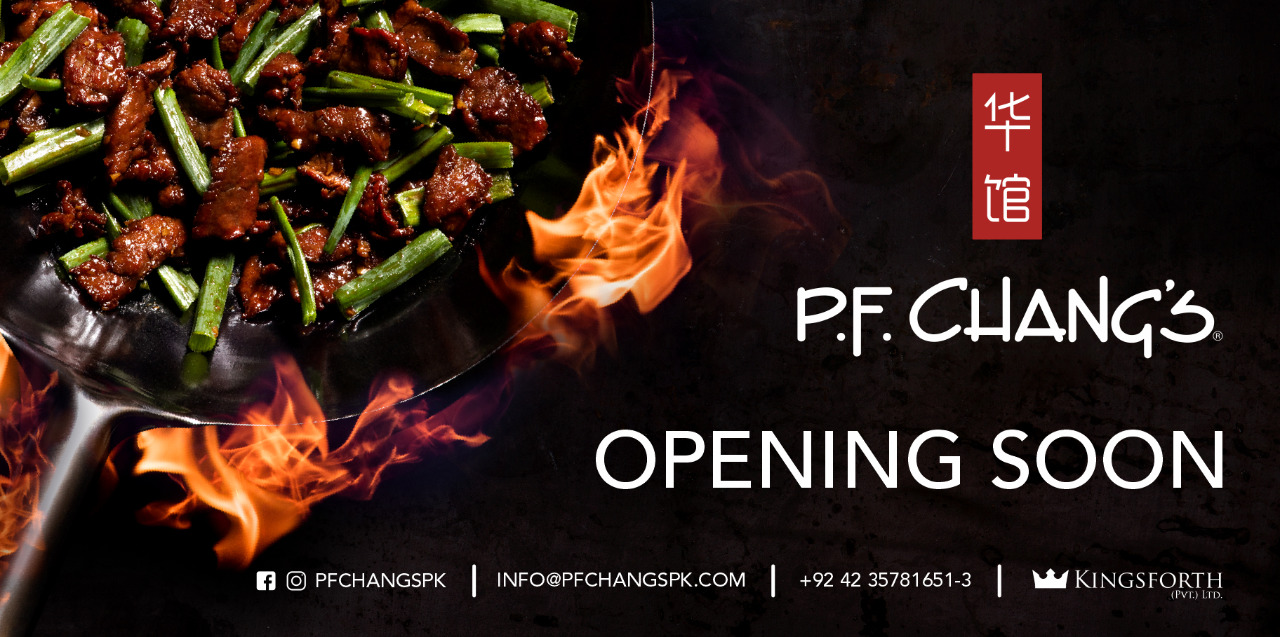 pf changs in lahore pakistan mm alam road gulberg chinese food