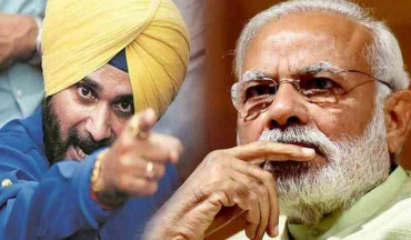 Sidhu Paa Jee Just Fired Shots At Modi For Being Jealous That He Wasn't Invited To Imran Khan's Oath Taking Ceremony