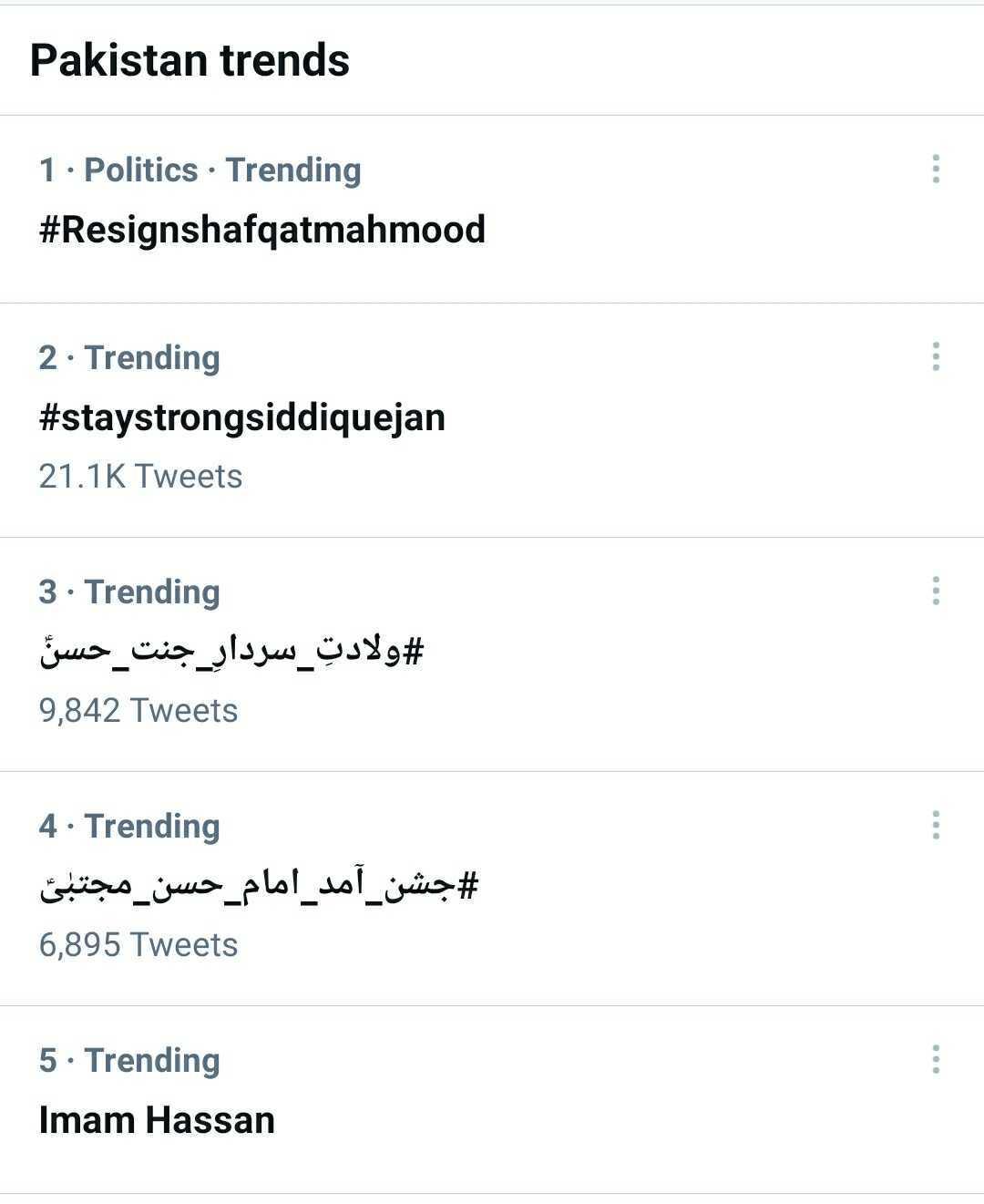 shafqat mahmood resign trending